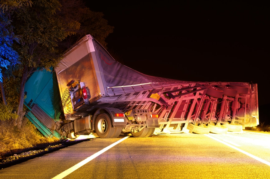 Fatal Night in Houston Includes 18 Wheeler Accident